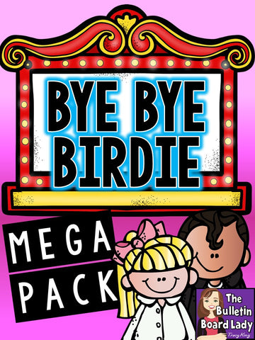 Bye Bye Birdie Mega Pack of Activities