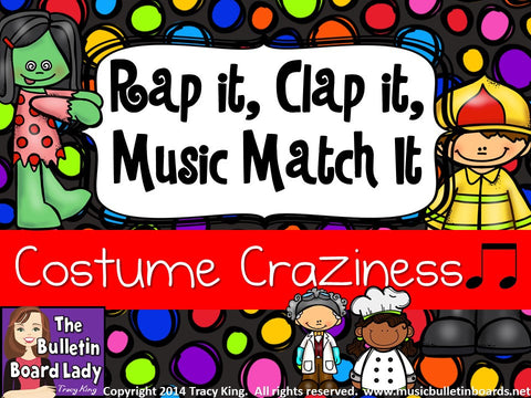 Rap It, Clap It, Music Match It: Costume Craziness