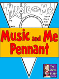 Music and Me Pennant