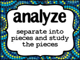 Test Prep Testing Words Bulletin Board Set of 42 in Aboriginal pattern