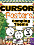 Computer Lab Decor BUNDLE - Camping Theme