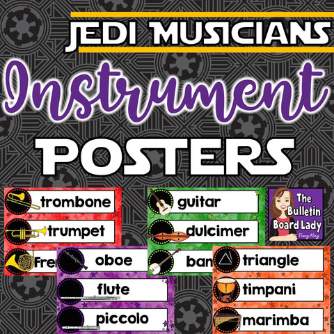 Instrument Posters Jedi Musicians
