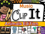 Music Clip It - Animals Edition