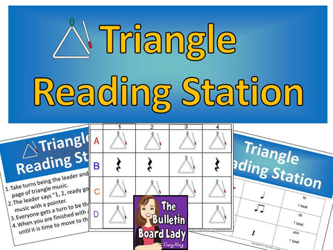Triangle Rhythm Reading Station