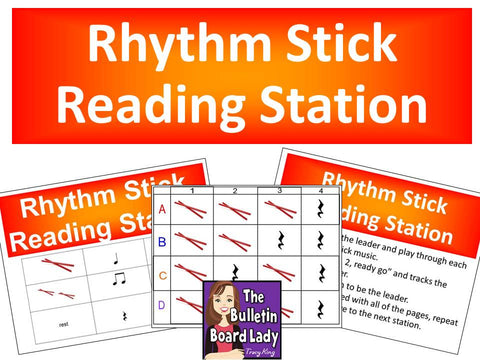 Rhythm Stick Reading Station