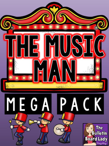 The Music Man MEGA Pack of Activities