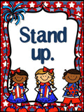 Star Spangled Banner Etiquette Bulletin Board