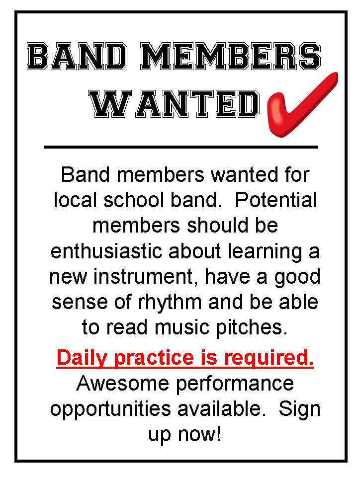 Musicians Wanted Bulletin Board Kit Careers In Music The