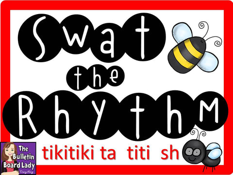 Swat the Rhythm - tiki tiki ta titi sh