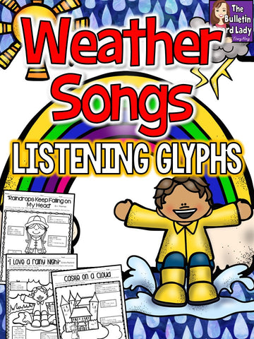 Listening Glyphs for Weather Songs