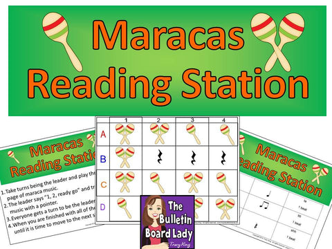 Maracas Rhythm Reading Station