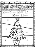 Music Roll and Cover - Christmas