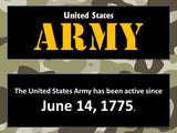 U.S. Army Bulletin Board