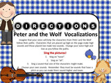 Peter and the Wolf Vocalizations