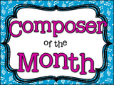 Composer of the Month Edvard Grieg-Bulletin Board and Writing Activities