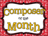 Composer of the Month Johannes Brahms -Bulletin Board and Writing Activities