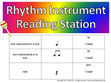 Rhythm Instrument Reading Station