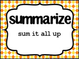Test Prep Testing Words Bulletin Board Set of 42: Summer Colors