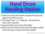 Hand Drum Rhythm Reading Station