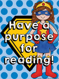 Super Readers Bulletin Board