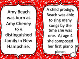 Amy Beach Composer of the Month Bulletin Board and More