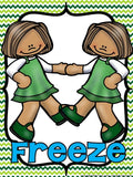 St. Patrick's Day Freeze Dance and Creative Movement