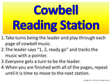 Cowbell Rhythm Reading Station