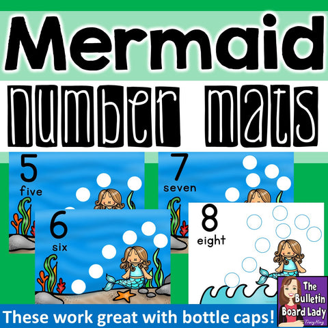 Mermaid Counting Mats