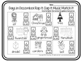 Rap It, Clap It, Music Match It: Days in December Edition