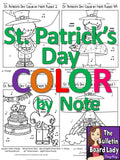 St. Patrick's Day Color by Note