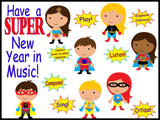 Have a SUPER New Year in Music