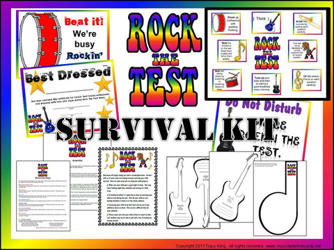 Rock the Test SURVIVAL Kit