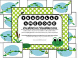 "Vocal Exploration/Singing Visual Aid: Frogs ""TOADally Awesome"""