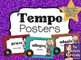 Tempo Posters - Rock Star Theme