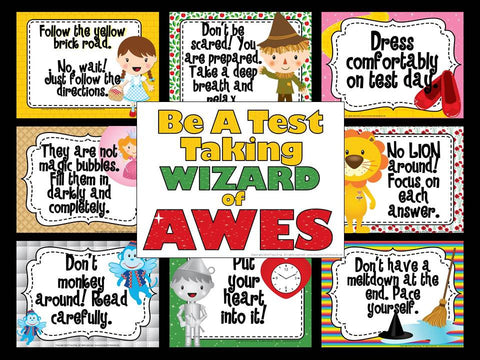 Be a Test Taking Wizard of AWES