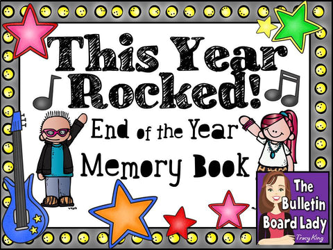 End of the Year Memory Book - This Year Rocked!