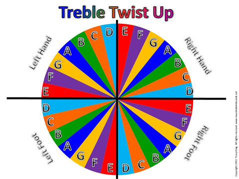 Treble Twist Up Board