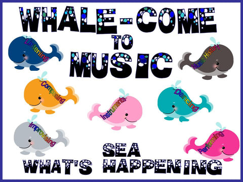WHALEcome to Music Bulletin Board