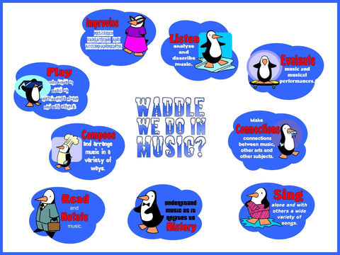 Waddle We Do In Music