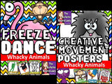 Whacky Animals Freeze Dance and Creative Movemen