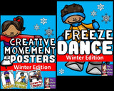 Winter Freeze Dance and Creative Movement