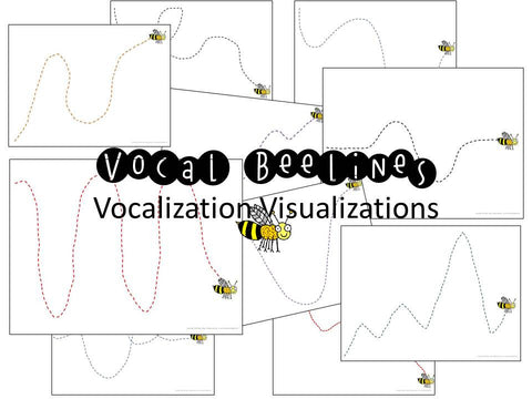 Vocal Exploration/Singing Visual Aids: Beelines