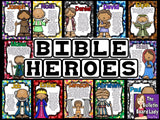 Bible Heroes Bulletin Board