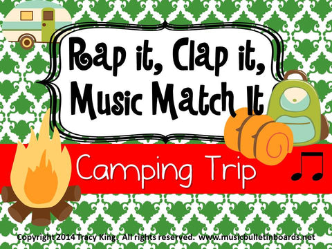 Rap It, Clap It, Music Match It: Camping Trip Edition