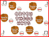 Catch These Hits Music Bulletin Board Kit-Composers and Baseball Theme