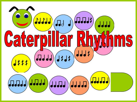 Caterpillar Rhythms Bulletin Board