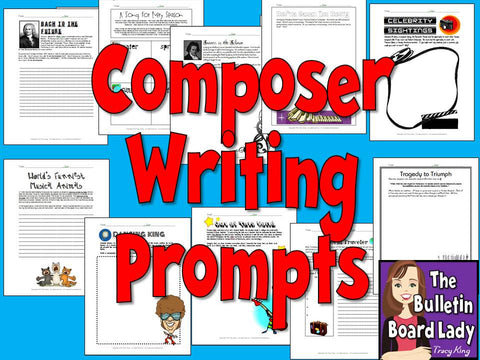 Composer Writing Prompts