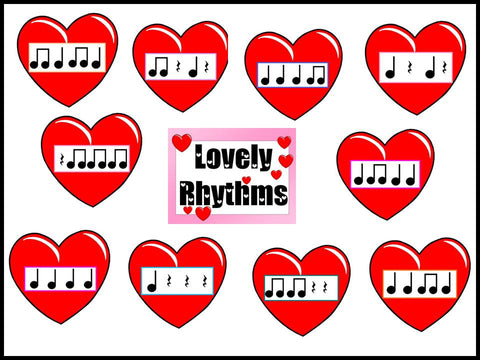 Lovely Rhythms Bulletin Board