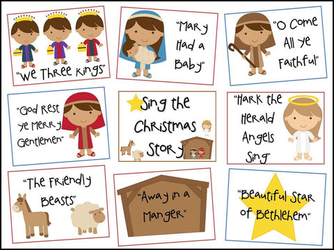 Sing the Christmas Story Bulletin Board