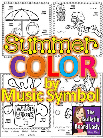 Color by Note Summer Edition